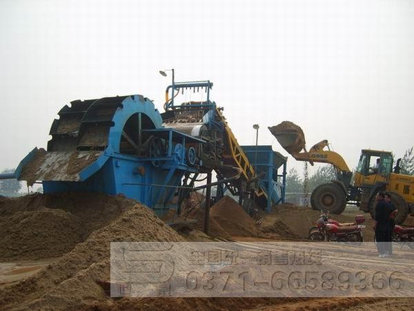 洗砂生产线使用现场